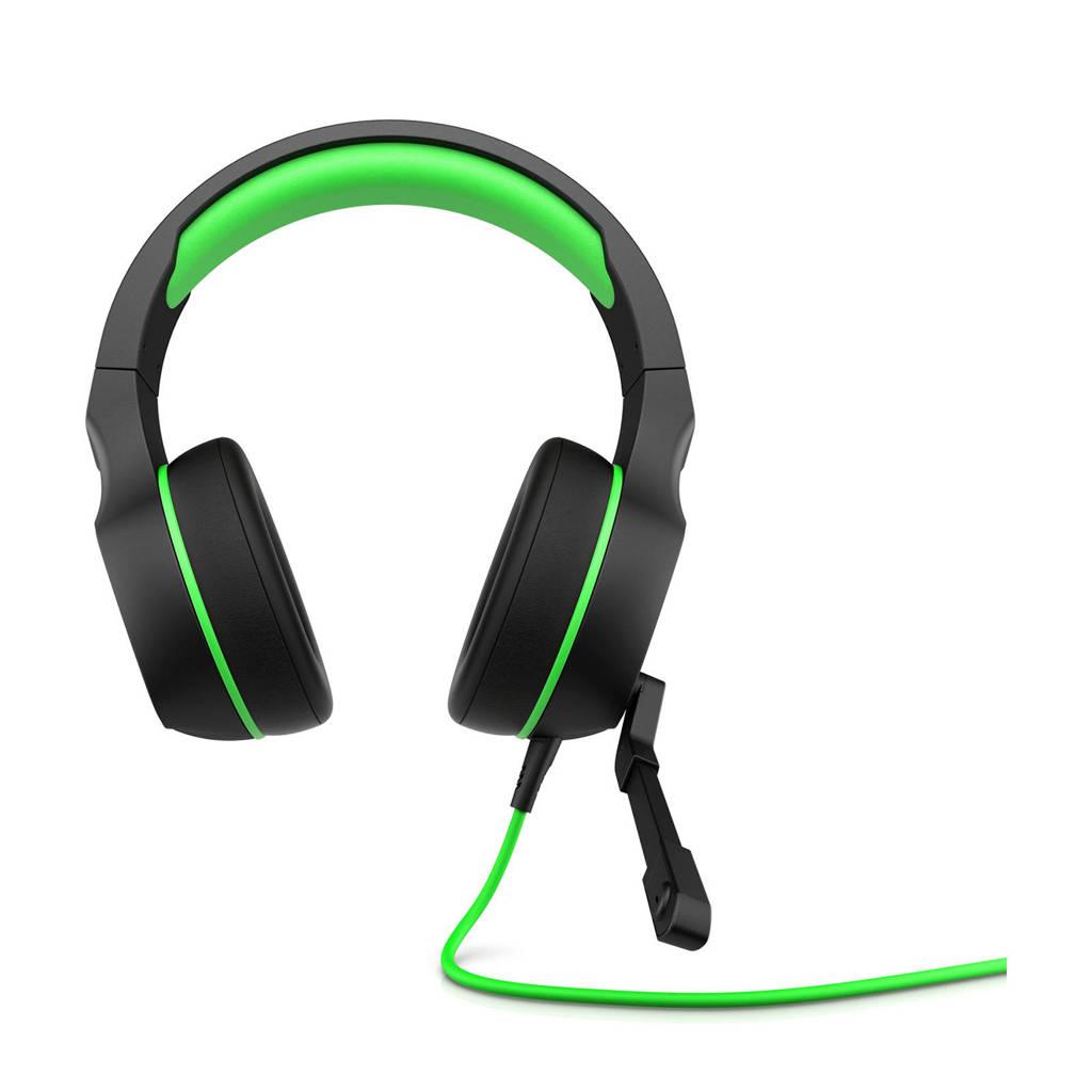 HP  Pavilion 400 gaming headset zwart/groen, Zwart, Groen