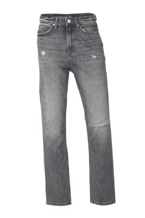 The Denim loose fit jeans grij