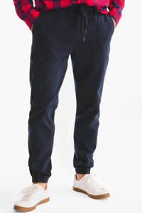 C&A Angelo Litrico tapered fit jog denim donkerblauw, Donkerblauw