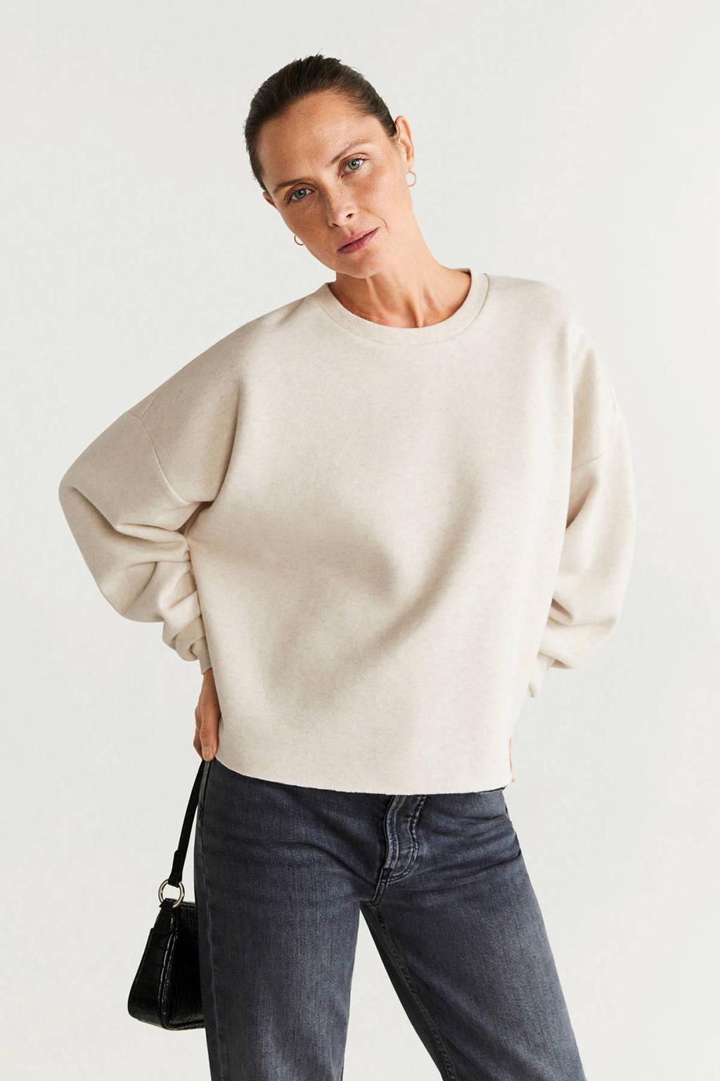 Mango sweater lichtbeige, Lichtbeige