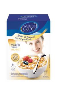 Weight Care Muesli - Maaltijdvervanger - 5 stuks