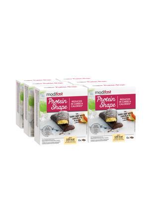 Protein Shape Reep Pure en Witte Chocolade - 6x6 stuks