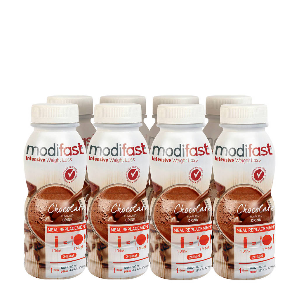 Modifast Drink Chocolade - 8x236 ml