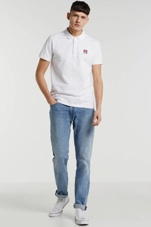 regular fit polo met logo bright white