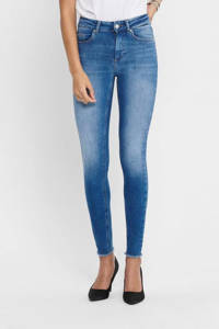 ONLY skinny jeans ONLBLUSH medium blue denim, Blauw