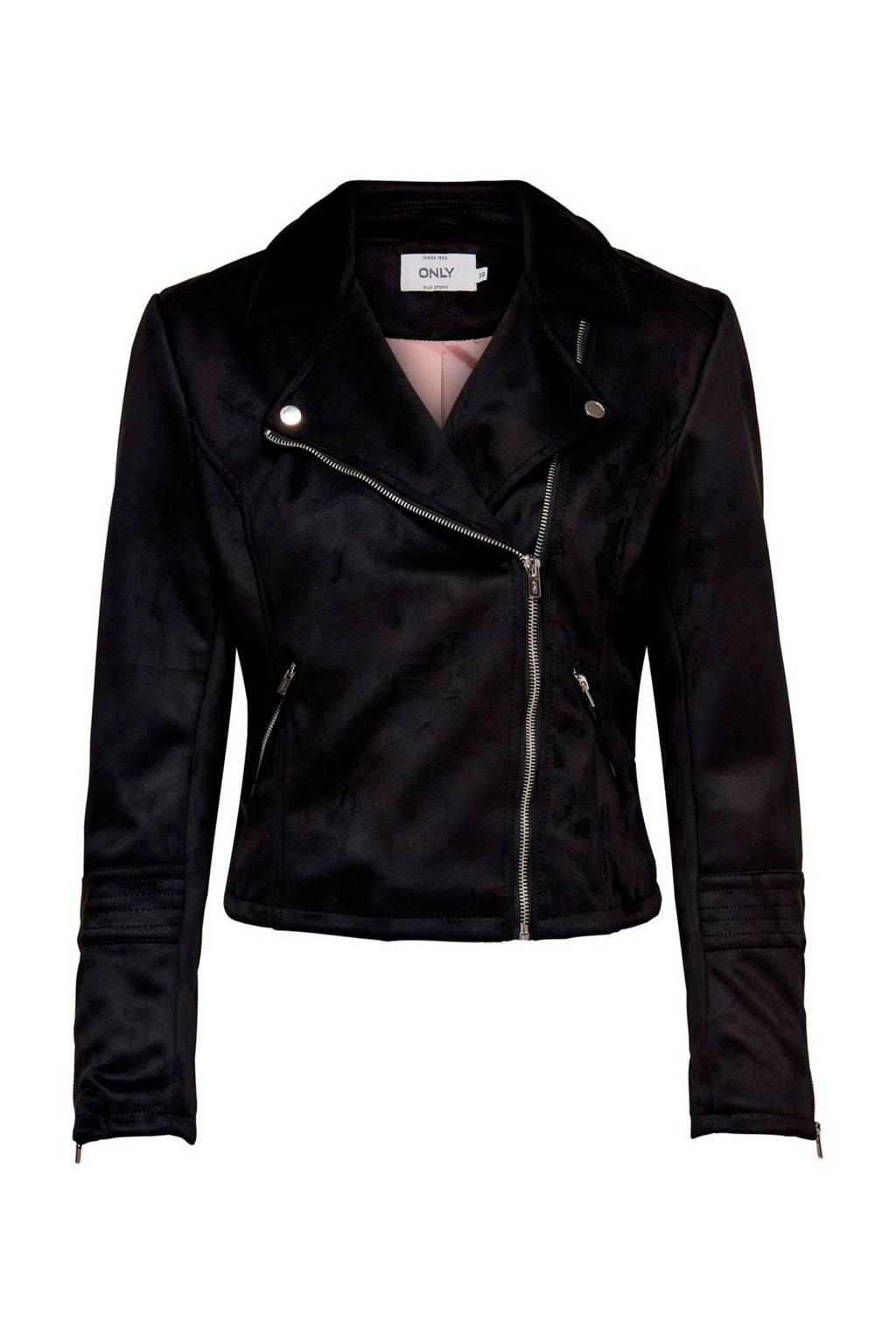 ONLY bikerjack zwart, Zwart