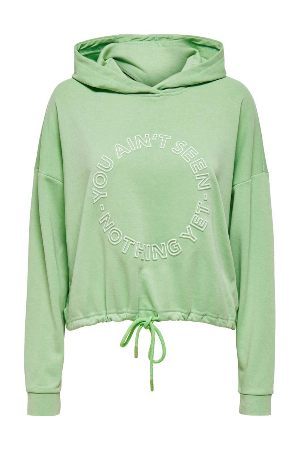 ONLY trui met printopdruk groen, Groen