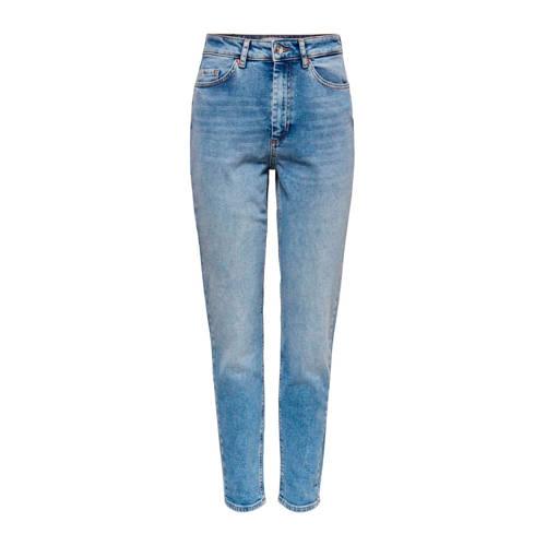 ONLY high waist slim fit jeans blauw