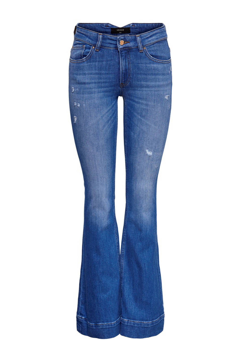 ONLY flared jeans blauw, Blauw