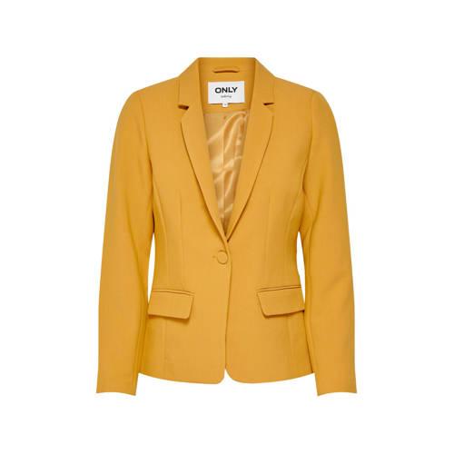 ONLY blazer geel