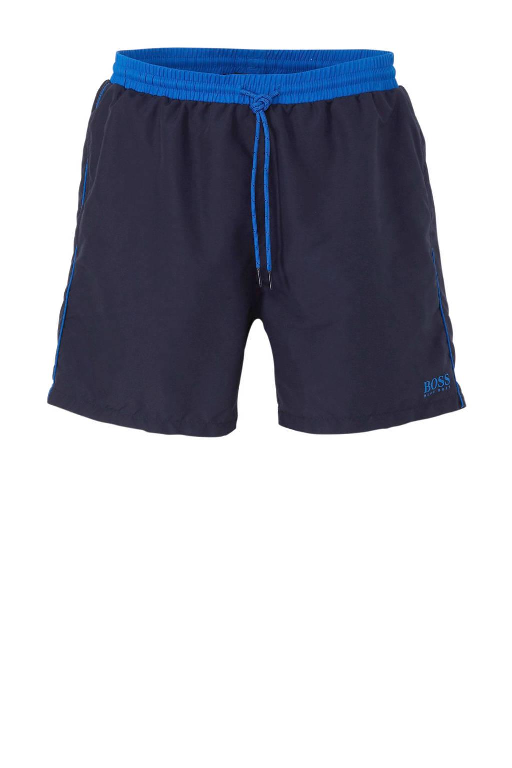 BOSS zwemshort Starfish blauw, Marine / blauw