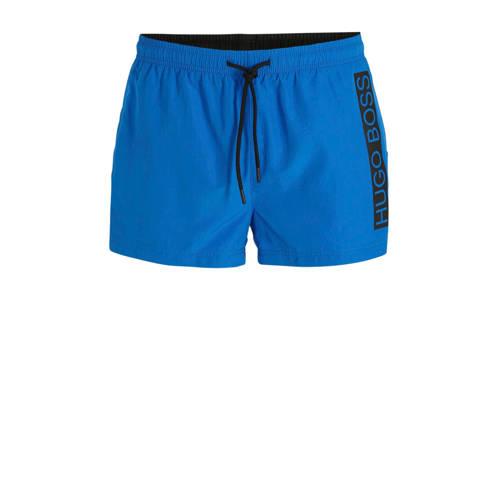 BOSS zwemshort kobaltblauw