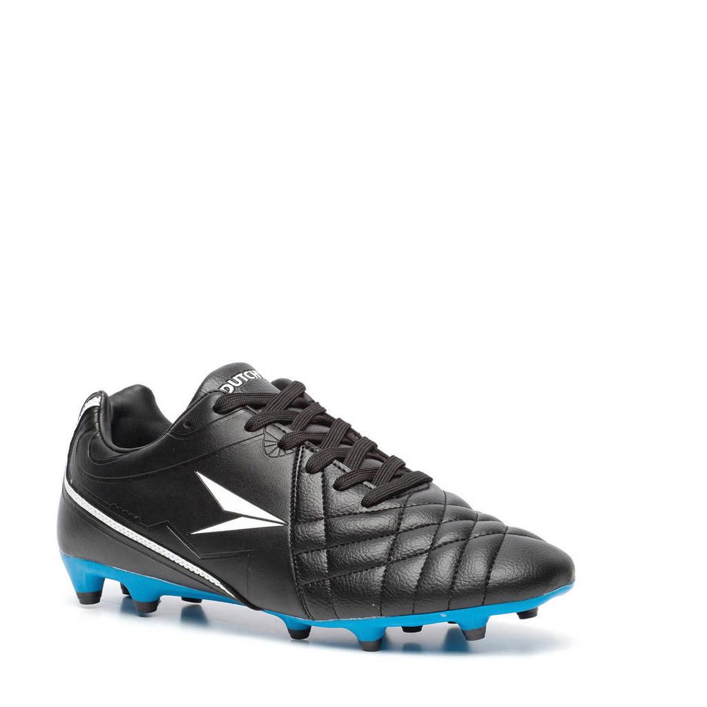 Scapino Dutchy   FG voetbalschoenen, Zwart/kobaltblauw