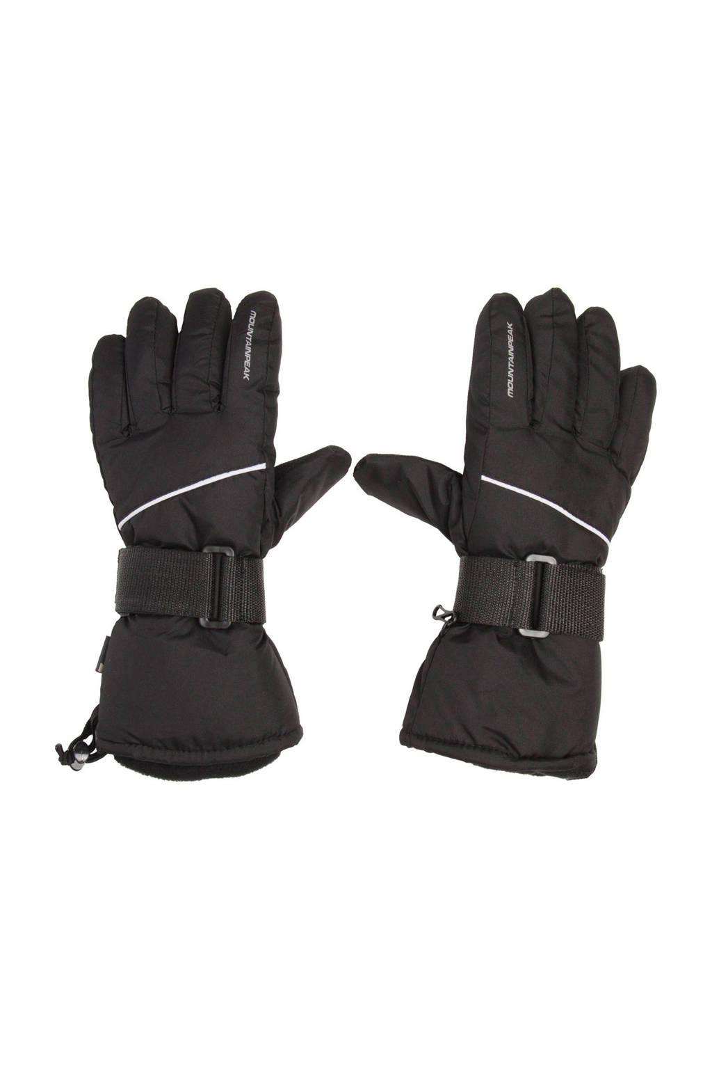 Scapino Mountain Peak skihandschoenen zwart, Zwart
