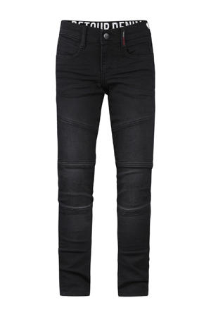 tapered fit jeans Yves black