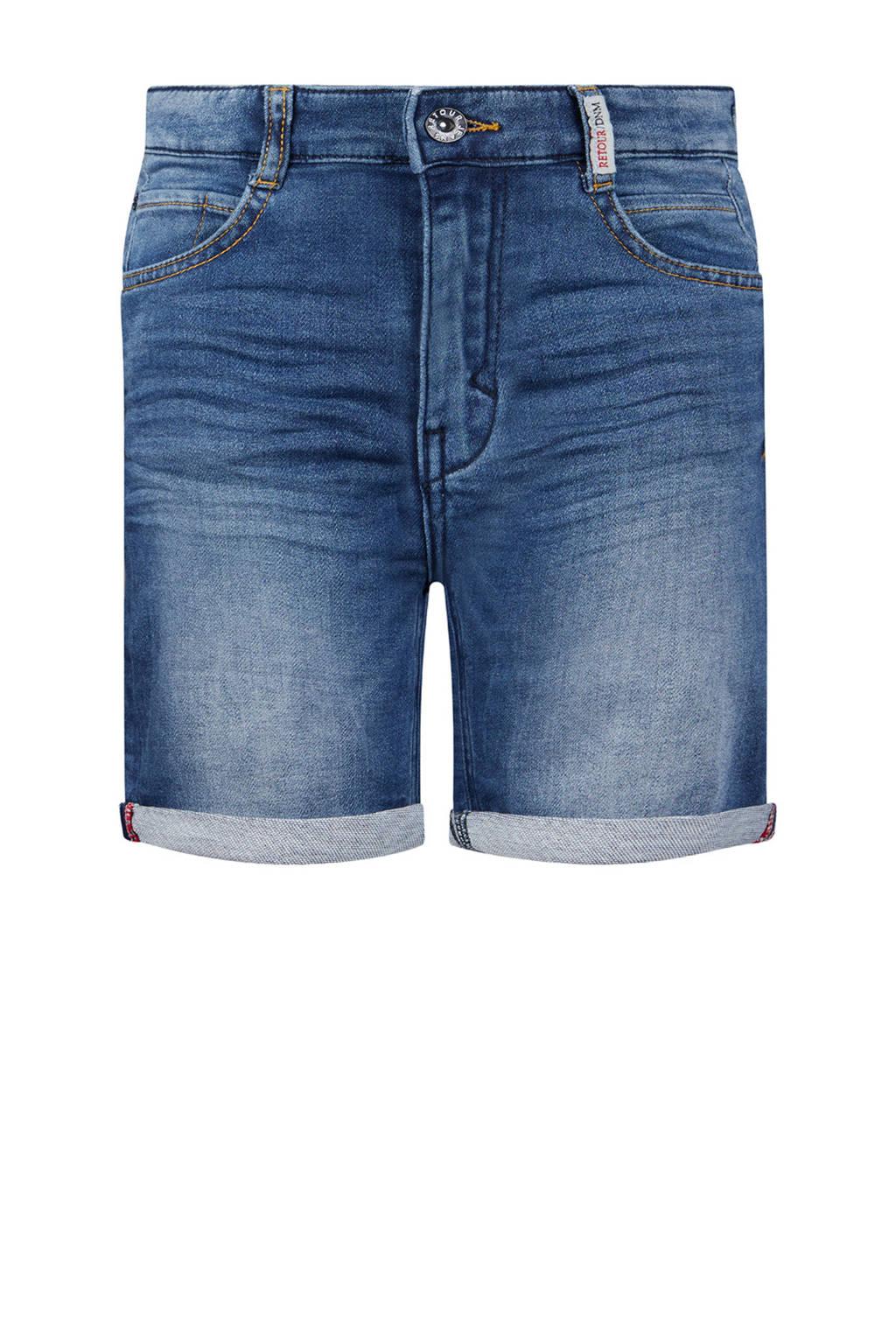 Retour Denim regular fit jeans bermuda Loek light denim stonewashed, Light denim stonewashed