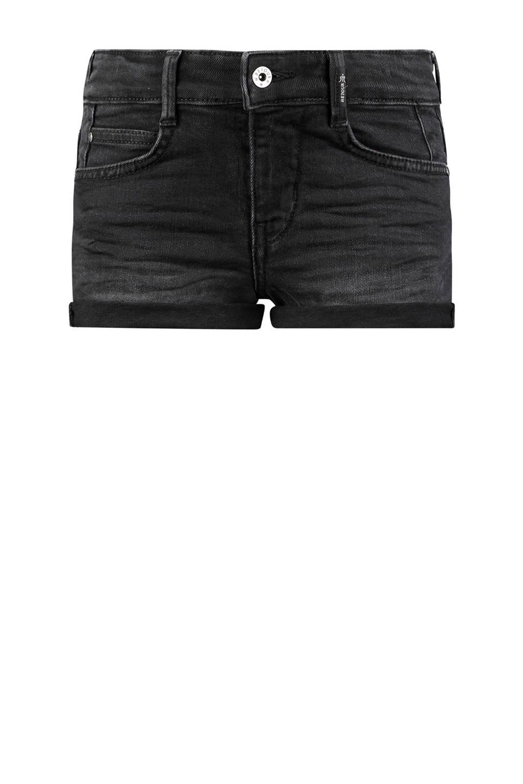 Retour Denim regular fit jeans short Allegra zwart, Zwart