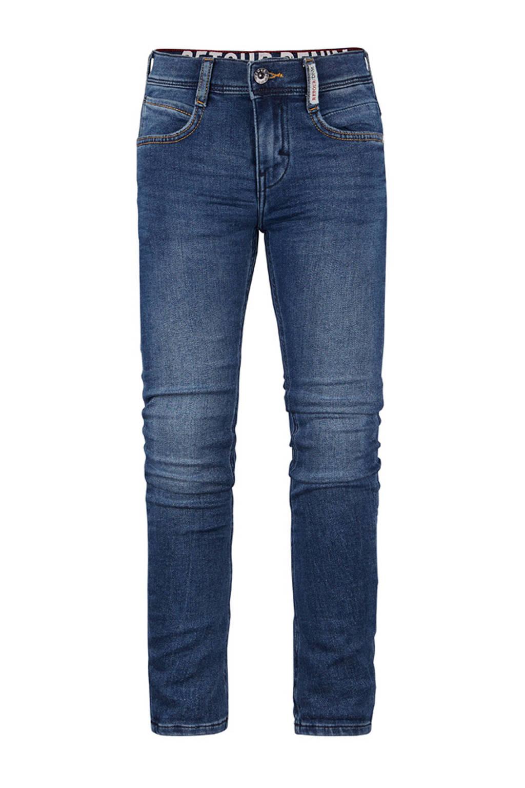 Retour Denim regular fit jeans Luigi dark denim, Dark denim stonewashed