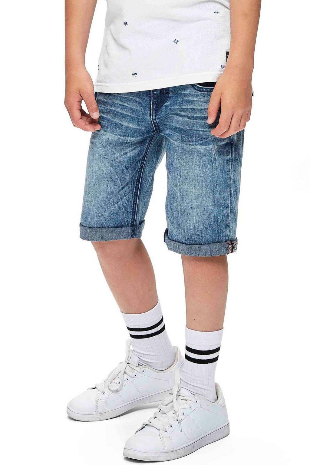 Retour Denim regular fit jeans bermuda Reve light denim stonewashed, Light denim stonewashed