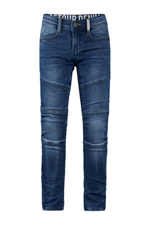 tapered fit jeans Yves medium blue