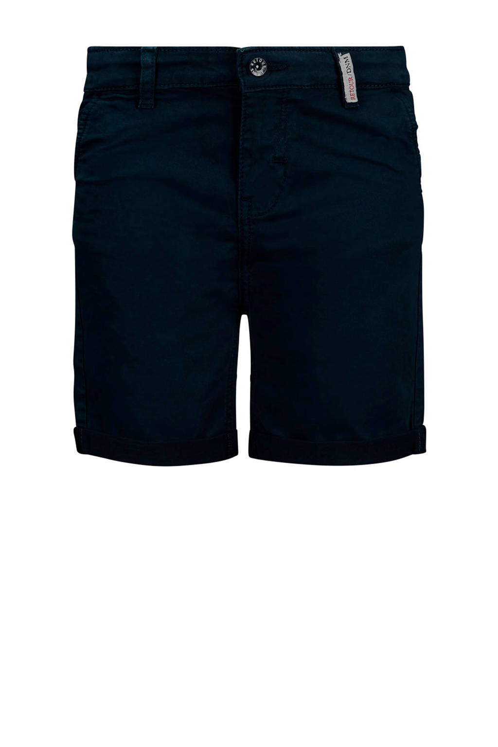 Retour Denim regular fit bermuda Stanley donkerblauw, Donkerblauw