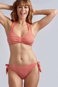 marlies dekkers Swim strik bikinibroekje Côte d'azur rood, Rood/wit