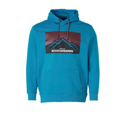 Tom Tailor Big & Tall hoodie met printopdruk b
