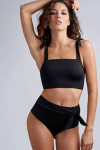 marlies dekkers Swim high waist bikinibroekje Black Sea zwart, Zwart