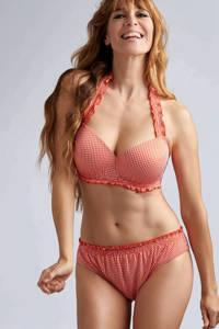 marlies dekkers Swim halter bikinitop Côte d'azur rood, Rood/wit