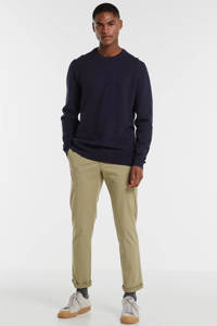 ESPRIT Men Casual gemêleerde sweater marine, Marine