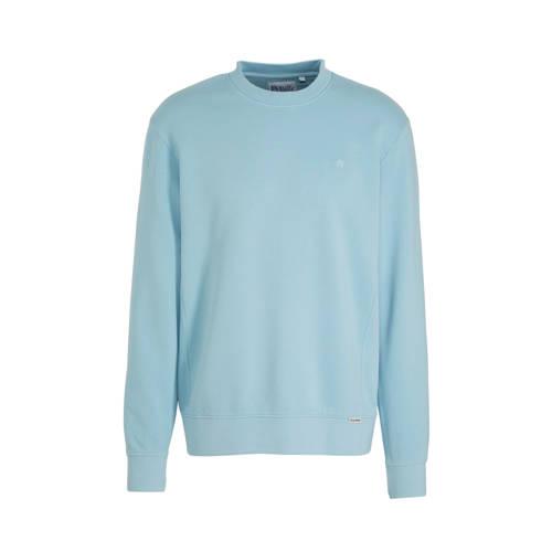 WE Fashion Blue Ridge sweater lichtblauw