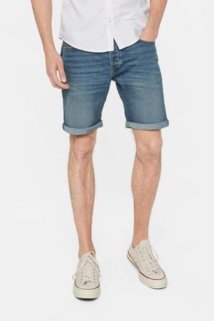 regular fit jeans short Rio Rex green cast denim
