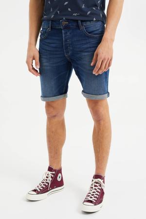 regular fit jeans short Rio Rex used denim