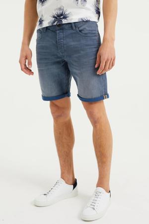 regular fit jeans short Rio Rex blue denim