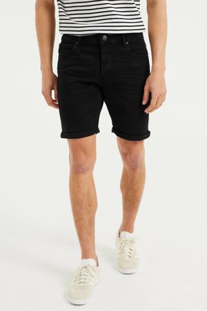 regular fit jeans short Rio Rex black denim