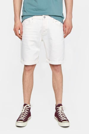 straight fit jeans short new ivory