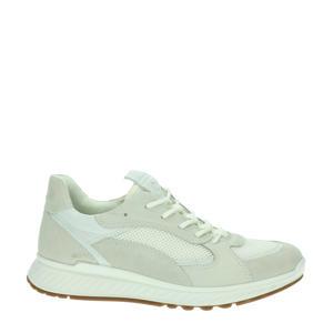 ST1 W  nubuck sneakers ecru