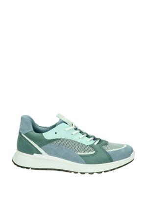 ST1 W  nubuck sneakers blauw/groen