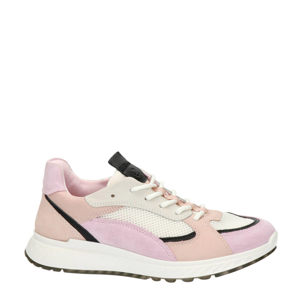 Ecco ST1 W  nubuck sneakers roze, Roze/multi