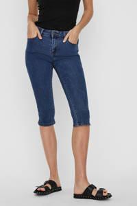 VERO MODA skinny capri jeans blauw, Blauw