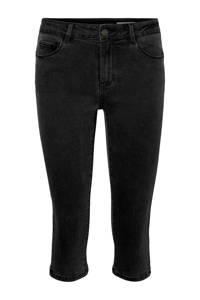 VERO MODA skinny capri jeans zwart, Zwart