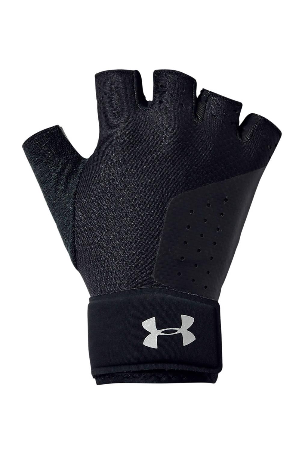 Under Armour   fitness handschoenen zwart, Zwart