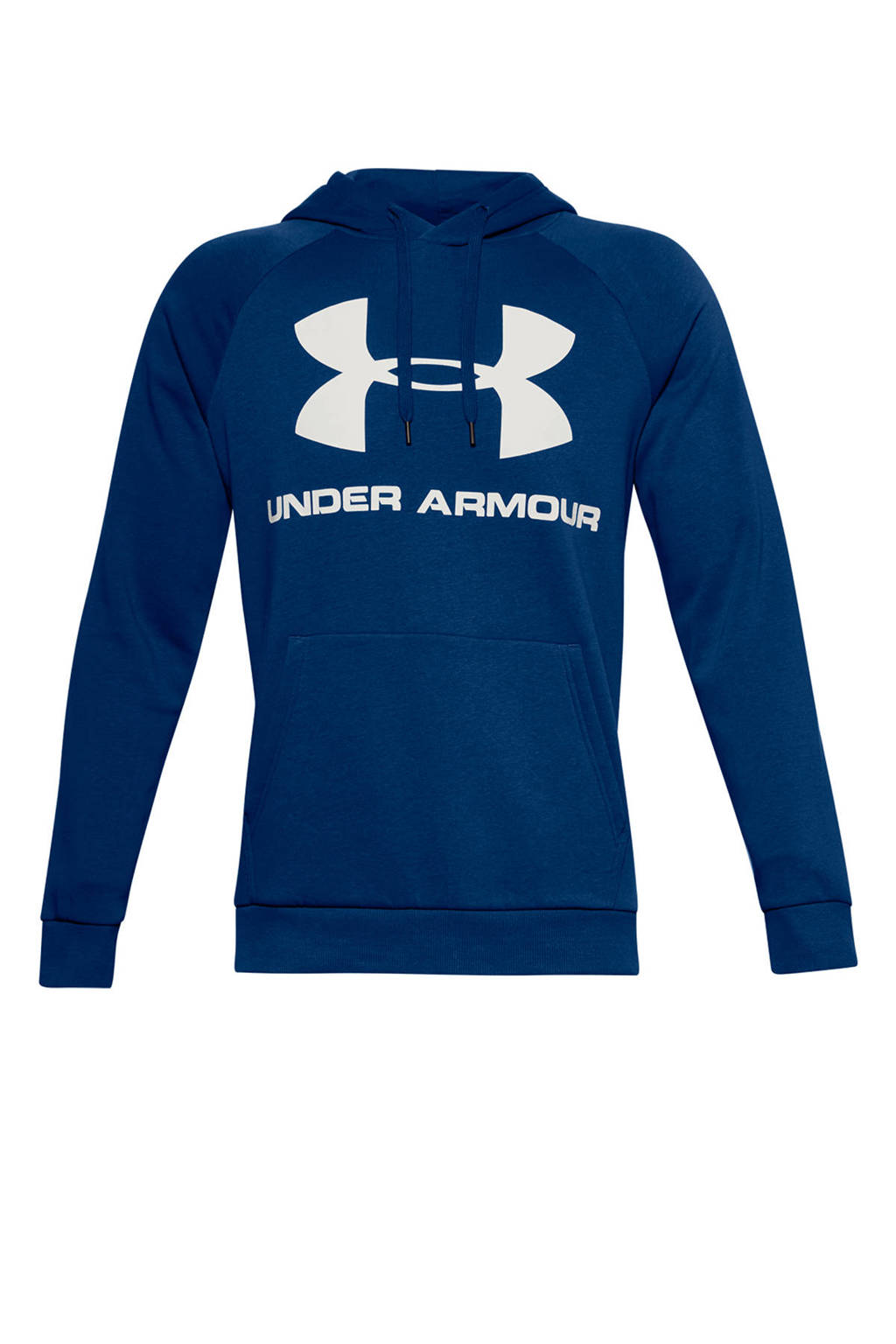 Under Armour   sportsweater blauw/wit, Blauw/wit