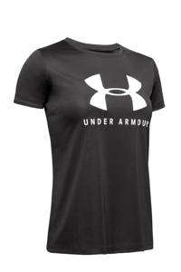 Under Armour sport T-shirt grijs, Grijs