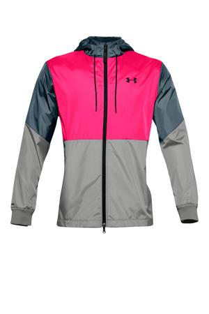 sportjack grijs/roze