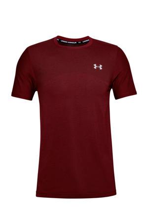 sport T-shirt bordeauxrood