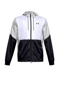 Under Armour   sportjack wit/grijs/zwart, Wit/grijs/zwart