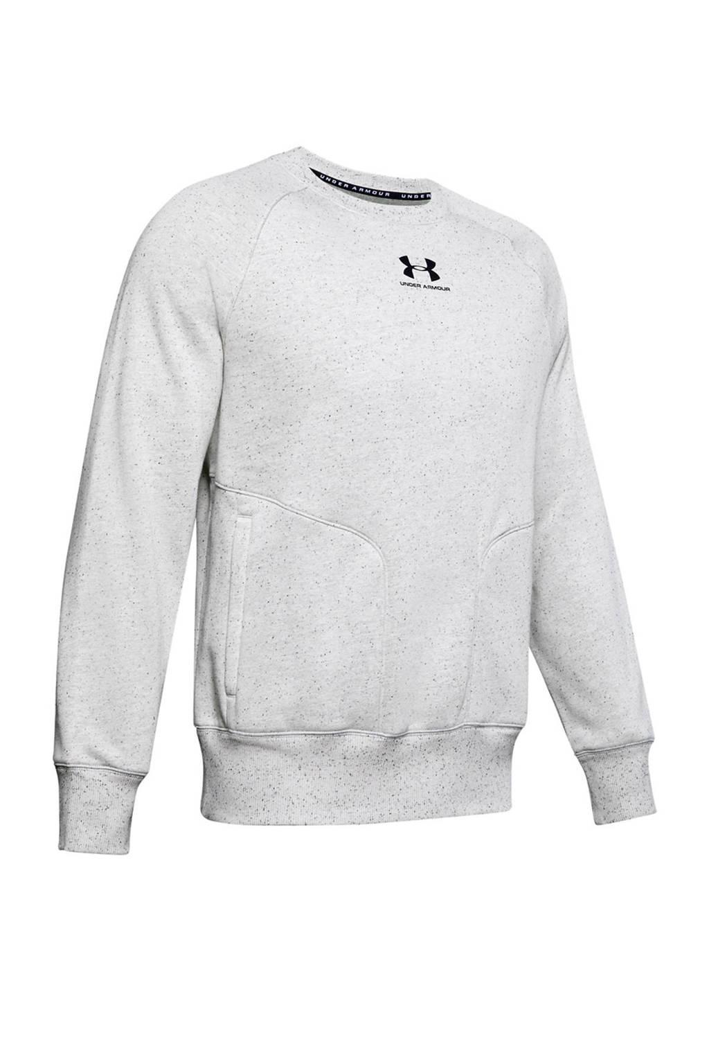 Under Armour   sportsweater lichtgrijs, Lichtgrijs