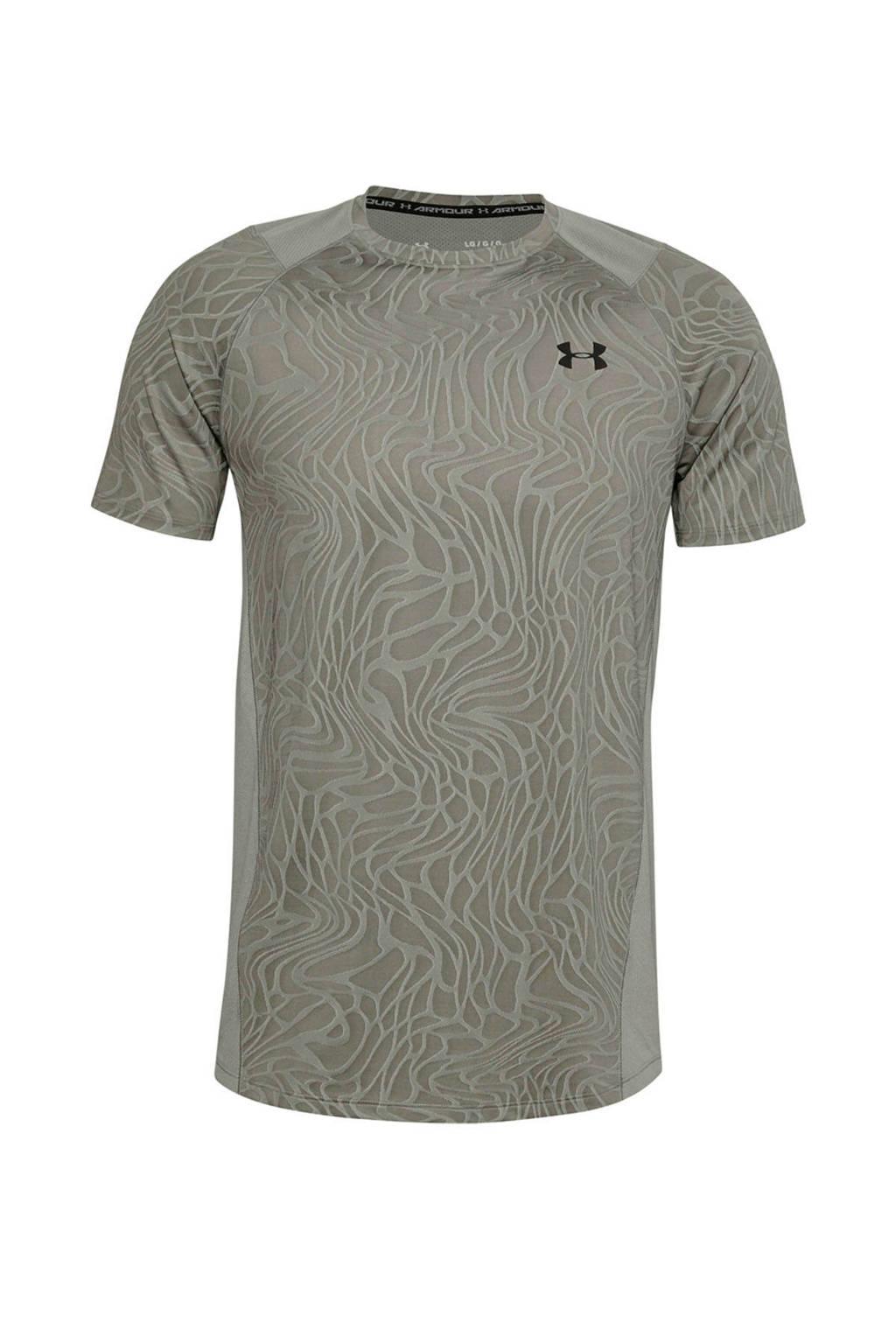 Under Armour   sport T-shirt groen, Groen