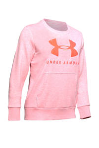 Under Armour sportsweater roze/rood, Roze/rood